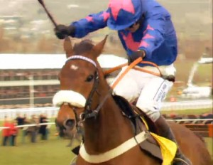 Cue Card wins the Ryanair